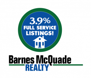 Barnes McQuade Realty 3.9% Full Service Listings Logo